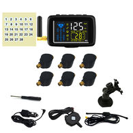 TTILifes U901TU Flow Through Tire Pressure Monitoring System with Six Sensors