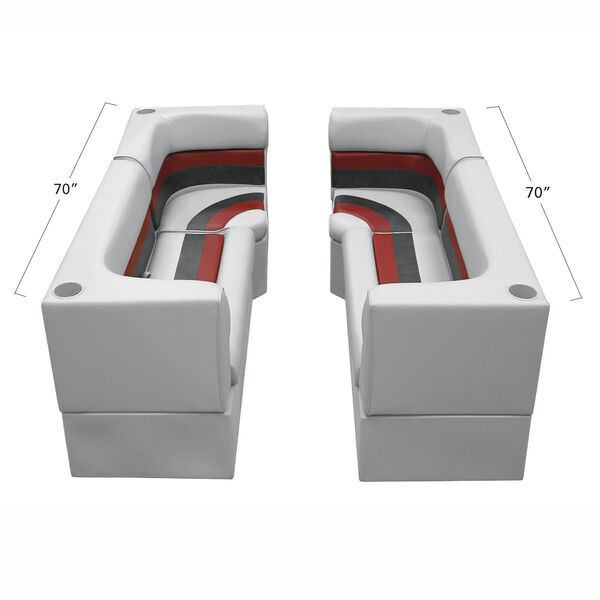 Toonmate Deluxe Pontoon Furniture w/Classic Base(no toe kick)- Party Pit Package