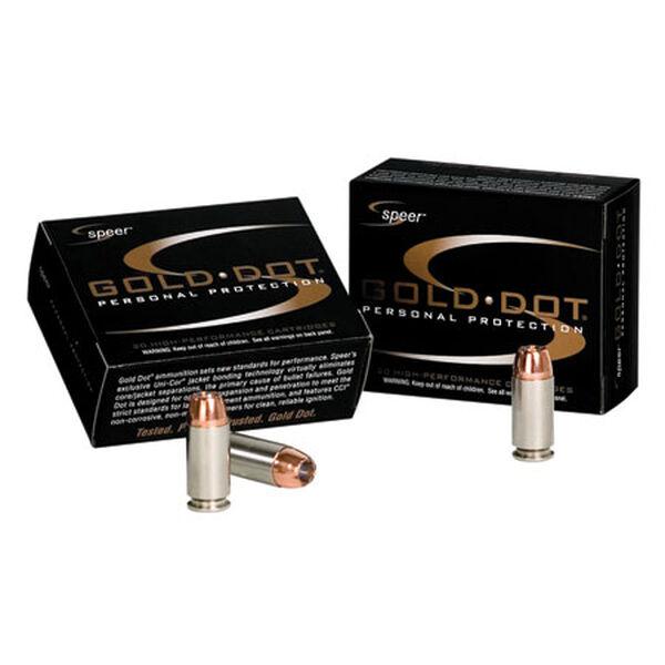 Speer Gold Dot Ammunition, 9mm Luger +P, 124-gr., GDHP