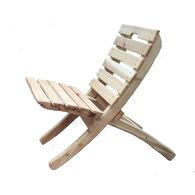 Cedar Wood Throbak Chair, Unfinished