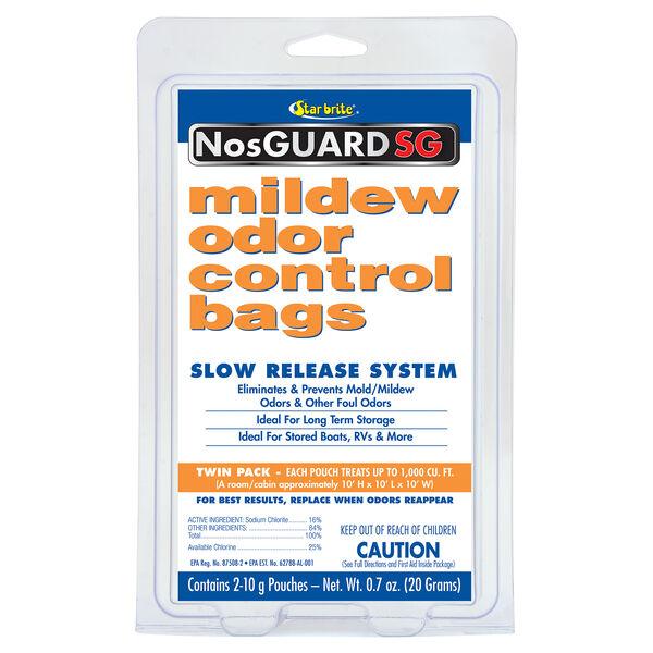 Star Brite NosGUARD SG Mildew Odor Control Bags, 2-Pack