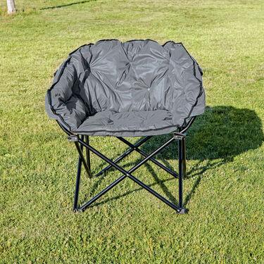 Charcoal Club Chair