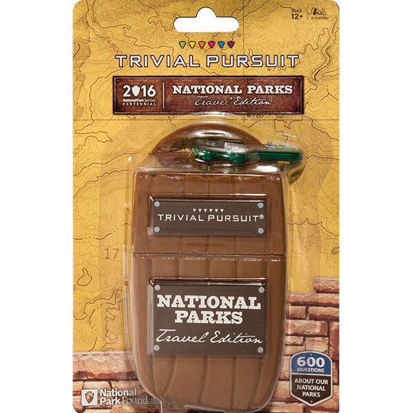 Trivial Pursuit National Parks Travel Edition