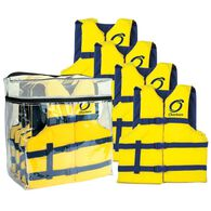 Overtons Universal Adult Life Jackets 4-pack