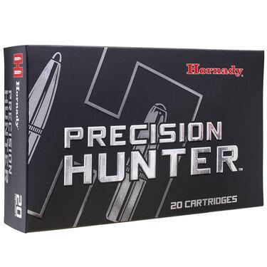 Hornady Precision Hunter Rifle Ammunition, 7mm Rem Mag, 162-gr., ELD-X