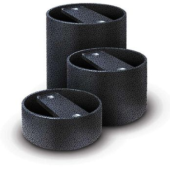 """Pacbrake Air Suspension Spacers for Lifted Trucks, Set of 2, 2""""Spacer Kit"""