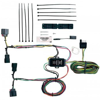 towed vehicle wiring kit for jeep grand cherokee 2007-2011 | camping world