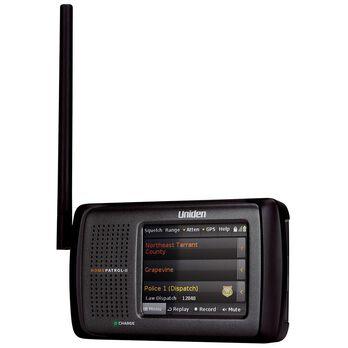 "Uniden Digital Scanner, Portable 3.5"" Ph2"