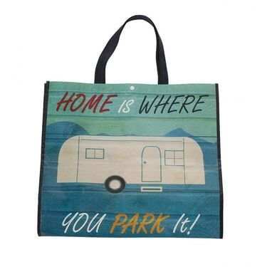 Retro Park It Shopping Bag