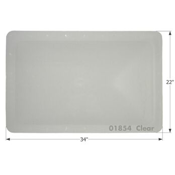 RV Skylight - SL1830C - Clear