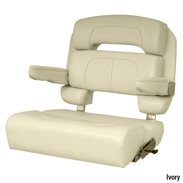 """Taco 25"""" Capri Helm Seat Without Seat Slide"""