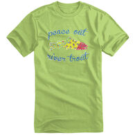 Points North Toddler Girls' Peace Out Short-Sleeve Tee
