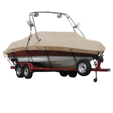 Exact Fit Covermate Sharkskin Boat Cover For CROWNLINE 220 EX