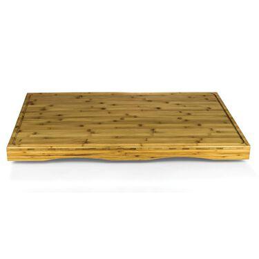 Stove Top Work Surface, Bamboo (Four-Burner)