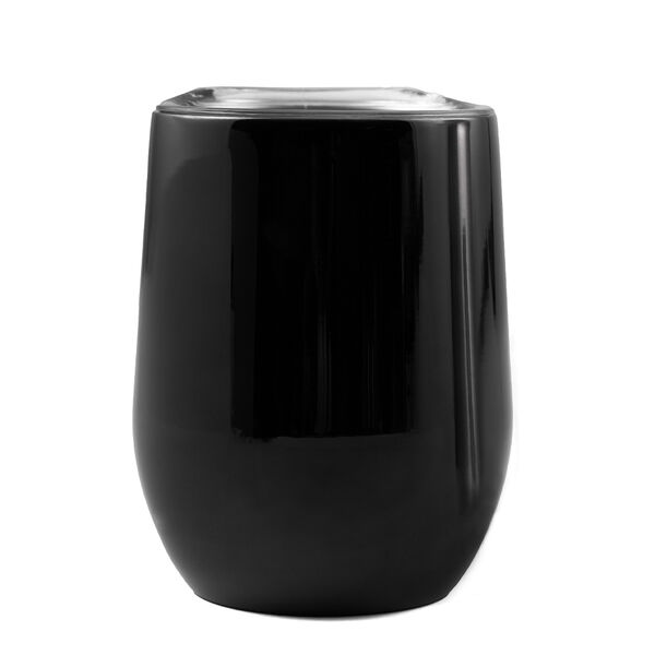 Cambridge 12-oz. Insulated Black Wine Tumbler