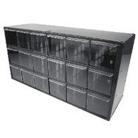 Seachoice 18-Drawer Clear Cabinet