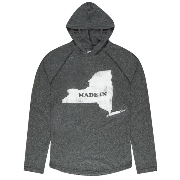 Local Yokel Men's New York Long-Sleeve Hooded Tee