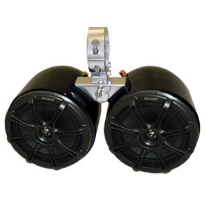 "Monster Tower Kicker Double Barrel Speakers With 2.5"" Inserts"