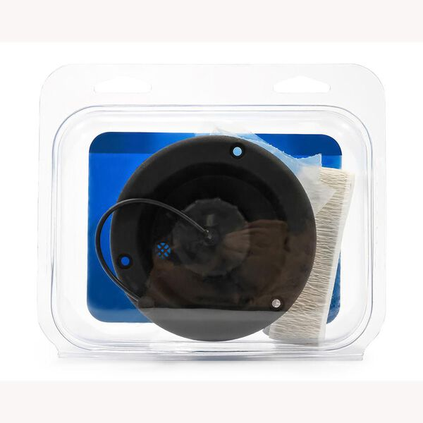 Camco Recessed Gravity Fresh Water Fill, Black