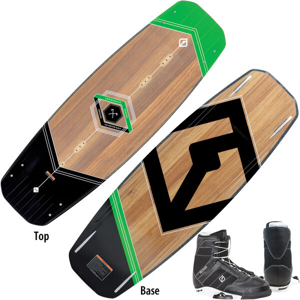 CWB Woodro Wakeboard With Cobra Bindings