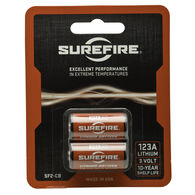 SureFire 123A Lithium Batteries, 2-Pack
