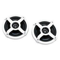 "Roswell Classic In-Boat 6.5"" Coaxial Speakers, White"