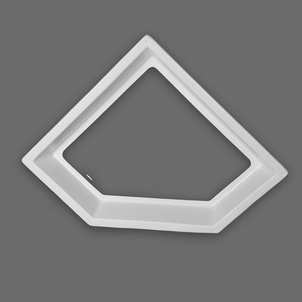 "Neo Angle Inner Garnish Skylight, Clear 24"" x 12"""