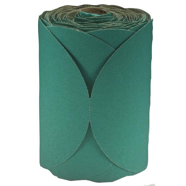 3M Stikit Green Corps Abrasive Paper Discs, Grade 80D