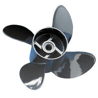 Comprop 4-Blade Propeller Solid Hub, 12.8 dia x 17 pitch Right Hand, O4347K