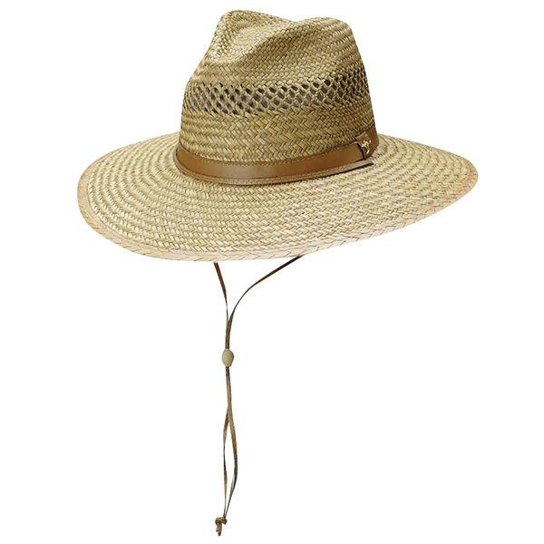 Dorfman-Pacific Men's Rush Straw Safari Hat