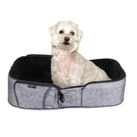Traveler Pet Bed, Gray