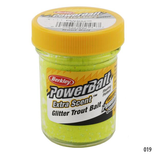 Berkley PowerBait Glitter Trout Bait, 1-4/5-oz. Jar