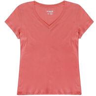 The Stacks Women's Short-Sleeve V-Neck Tee