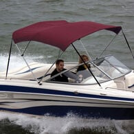 """Shademate Bimini Top Polyester Fabric and Boot Only, 3-Bow 6'L, 36""""H, 85""""-90""""W"""
