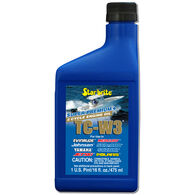 Star Brite Super Premium 2-Cycle TC-W3 Engine Oil, 16 oz.