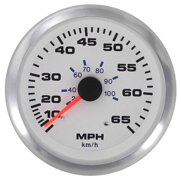 "Sierra White Premier Pro 3"" Speedometer"