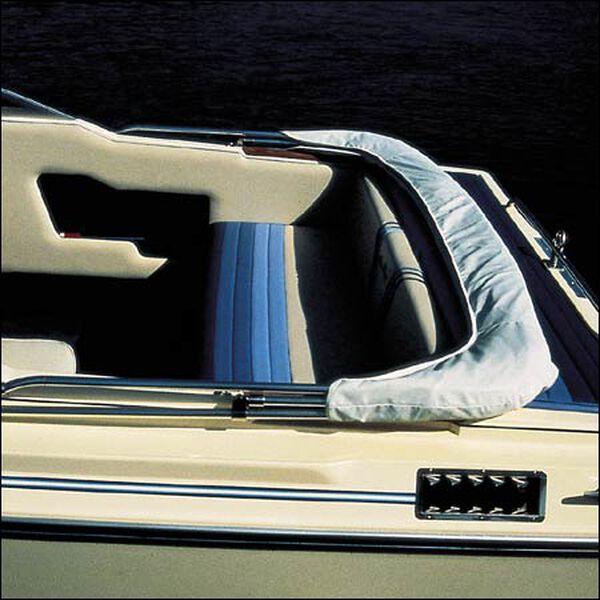 """Shademate Replacement White Vinyl Bimini Storage Boot, 61""""-66"""""""