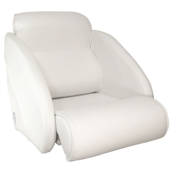 Springfield Thigh Rise Flip-Up Chair, White