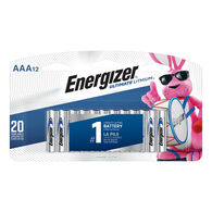 Energizer Ultimate Lithium AAA Batteries, 12-pack