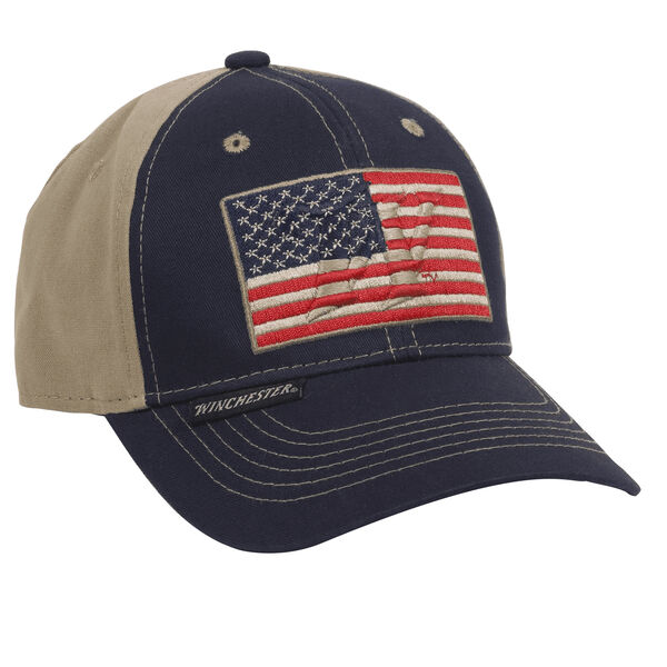 Winchester Men's Flag Patch Logo Cap