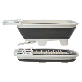 Prep Solutions Swivel Spout Collapsible Dish Drainer