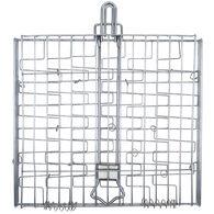 Chrome Basket with Foldable Handle