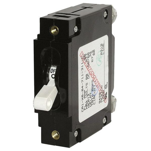 Blue Sea Systems C-Series Toggle Switch Circuit Breaker, Single Pole 15 Amp
