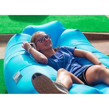 Airlounj Lounge Chair, Aqua