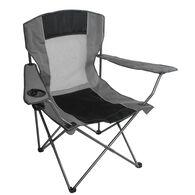 Mesh Quad Chair, Grey