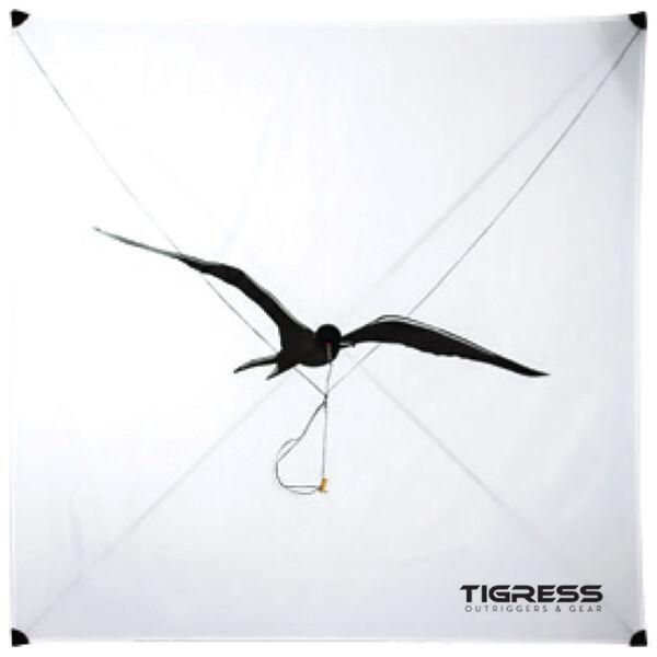 Tigress Specialty Lite Wind Kite, White