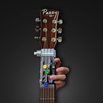 ChordBuddy Guitar Learning System, Left-handed