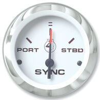 "Sierra Lido 2"" Engine Sync Gauge Only"