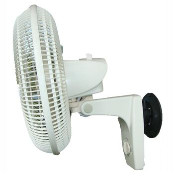 Suction Cup Mounted Oscillating Fan