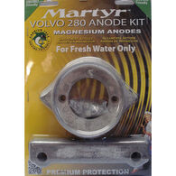 Martyr Volvo Penta Anode Kit for 280 HP Dual Prop Engines - Magnesium